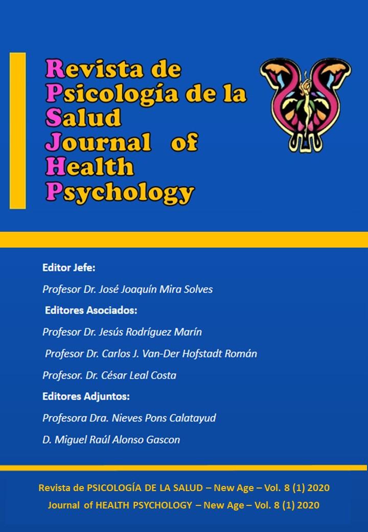 Ver Vol. 8 Núm. 1 (2020): Revista de PSICOLOGÍA DE LA SALUD
